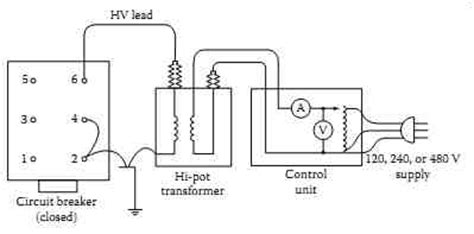 switchgear wiring diagram