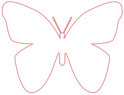 butterfly templates big butterfly pattern the nerone family flickr