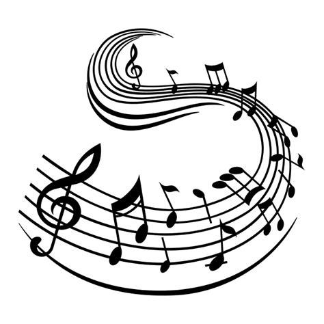 imagenes en png de notas musicales vinilos pentagrama y notas musicales