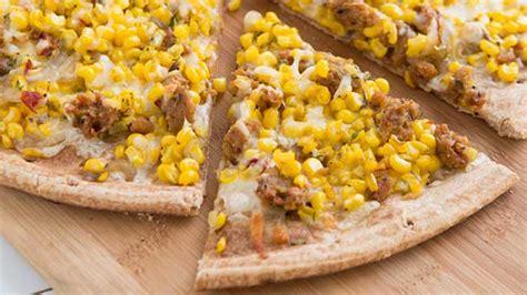 sweet corn tuna pizza resepkokico