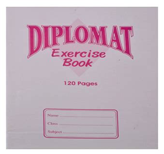 the diplomat s a novel diplomat exercise books 120 pages thegofer
