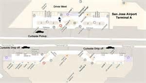 San Jose Airport Map by San Jose Airport Limo Service Elite Limousine