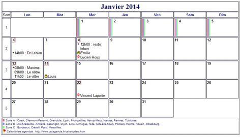 Calendrier Mensuel Image Gallery Calendrier Mensuel 2014