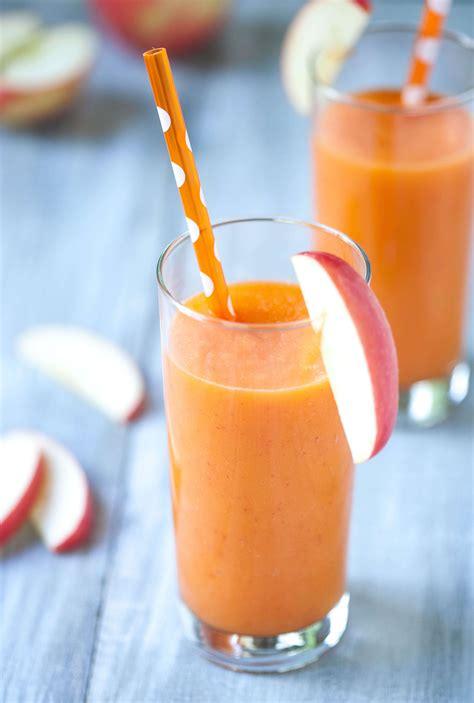 Blender Wortel apple carrot smoothie