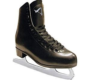 american athletic shoe s leather lined figure skates