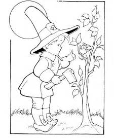 thanksgiving day coloring pictures thanksgiving day coloring page sheets pilgrim boy