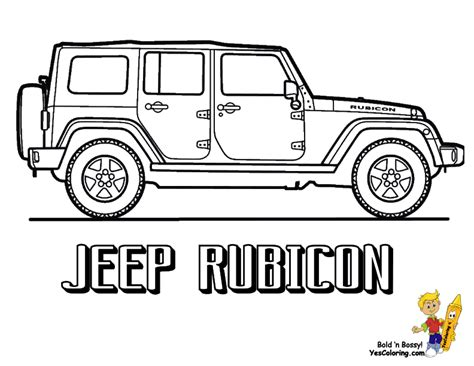 coloring pages jeep wrangler american pickup truck coloring sheet free trucks jeep