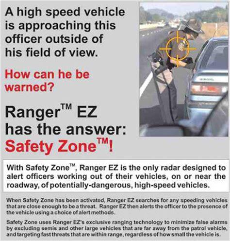 Officer Safety by Mph Ranger Ez Ranging Directional Traffic Radar