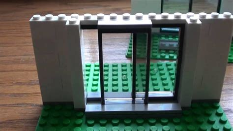 How To Make A Lego Sliding Door Office And Bedroom How How To Make Glass Doors