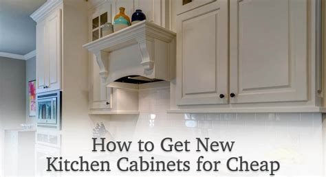 How To Get Cheap Kitchen Cabinets | how to get new kitchen cabinets for cheap knotty alder
