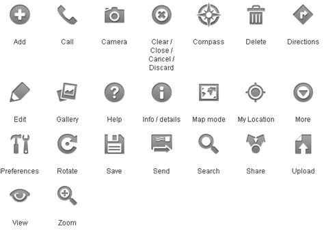 gallery android status bar icons