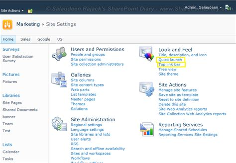 sharepoint top link bar drop down sharepoint 2010 top link bar drop down sharepoint top