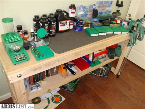 bench setup armslist for sale reloading setup