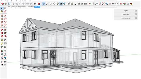 Floor Plan Detail Drawing by Sketchup For Architecture Fundamentals