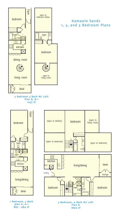 sands of kahana building layout sands of kahana 3 bedroom floor plan home plans ideas