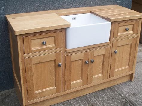 Sink Cabinet Kitchen Oak Belfast Sink Base Free Standing Kitchen Cabinets Hana Home Kitchen