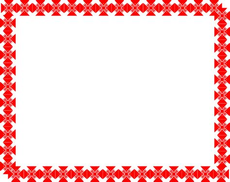 Decorative Hearts For The Home by Border Red Free Stock Photo Illustration Of A Blank