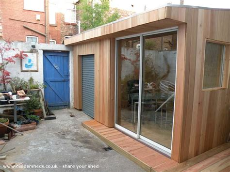one grand designs shed garden office shed from liverpool