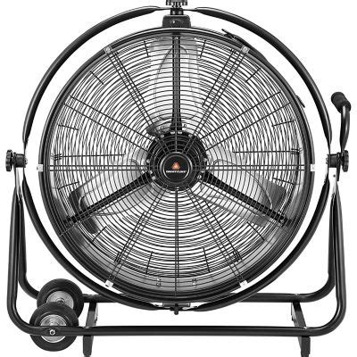 tractor supply shop fans countyline 174 orbit drum fan 24 in dia dazzlepoint