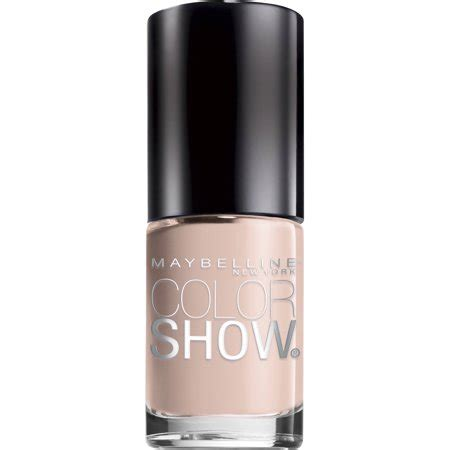 maybelline color show nail maybelline color show nail lacquer neutral statement