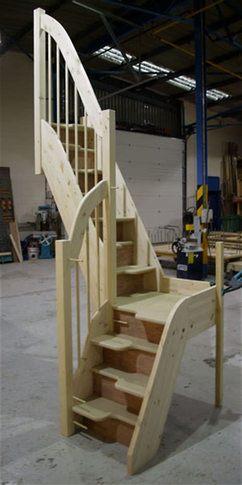 Quarter Turn Stairs Design Space Saver Staircases From Tradestairs Space Saving Alternating Tread Stairs