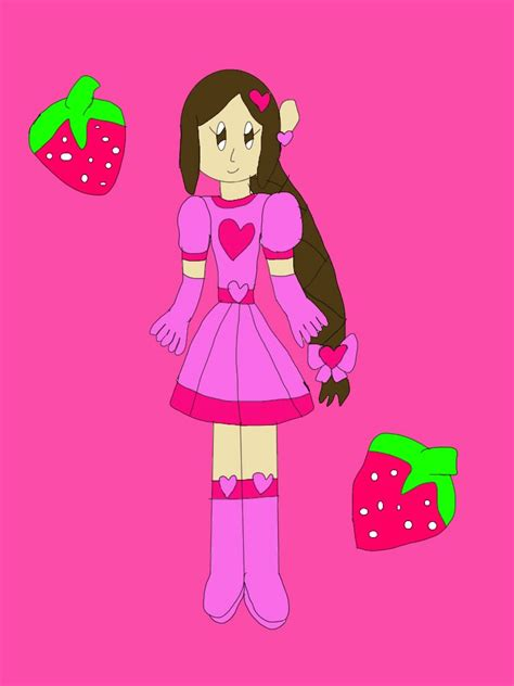 Cp Princes cp oc princess strawberry by jlj16 on deviantart