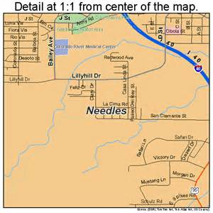 needles california map needles california map 0650734