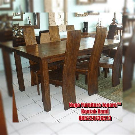 Furnitur Meja Makan 17 model set meja makan jati minimalis terbaru harga