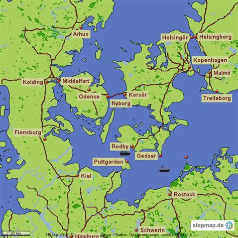 deutschland d 228 nemark schweden skasom landkarte f 252 r