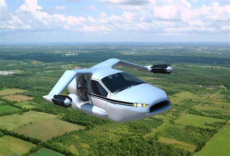 futuristic flying cars futuristic flying car concept from terrafugia design swan