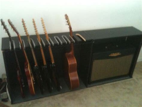 Building A Guitar Rack System by Cheap Diy Guitar Rack The Gear Page Diy
