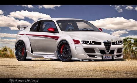 alfa romeo tuning 159 johnywheels