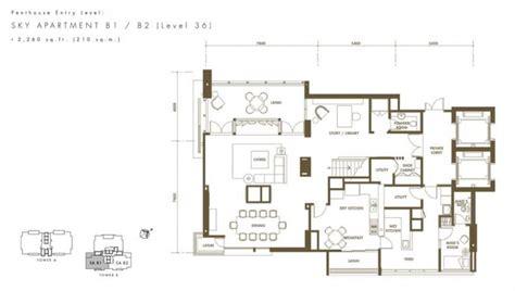 klcc floor plan binjai on the park properties kuala lumpur city