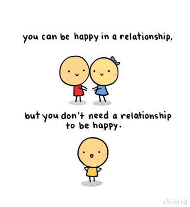 Single Is Happy can be single and happy no doubt d chibird