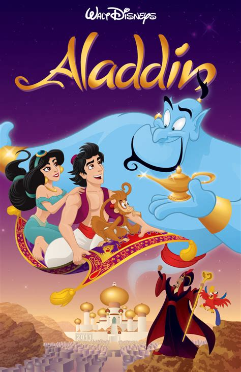 film disney aladdin aladdin poster by jfulgencio on deviantart