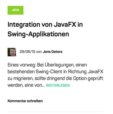 swing applications integration von javafx in swing applikationen javafx delight