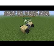 18 How To Make A CarBusTrain In Minecraft That Moves
