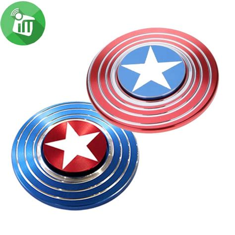 Fidget Spinner Capten America Spinner captain america shield metal fidget spinner
