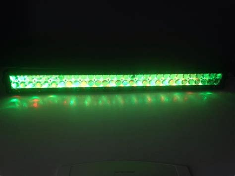 Led Light Bar Color Changing by 52 Quot Led Color Changing Light Bar Millar Light Bars Fx