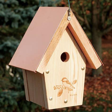 duncraft com woodlink coppertop hanging chickadee wren