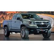 Chevys Diesel Powered Colorado ZR2 Concept Is One Helluva Cool Truck
