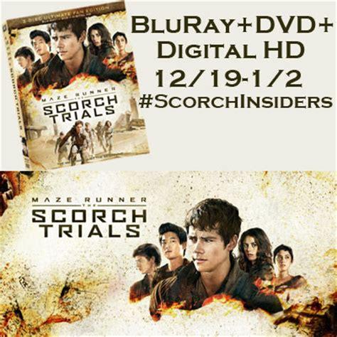 Bluray Maze Runner Part 1 2 maze runner the scorch trials bluray dvd digital hd giveaway 1 2 tales from a southern