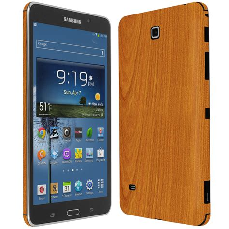 Galaxy Tab 4 Lite skinomi techskin samsung galaxy tab 4 7 0 light wood skin protector