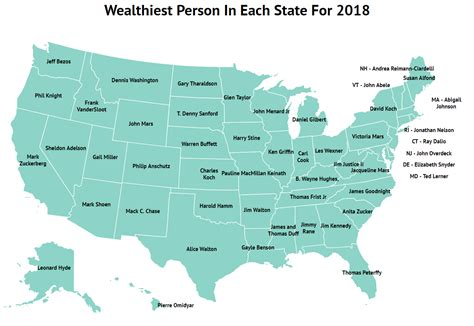 these are the 10 wealthiest in each state for 2018 zippia