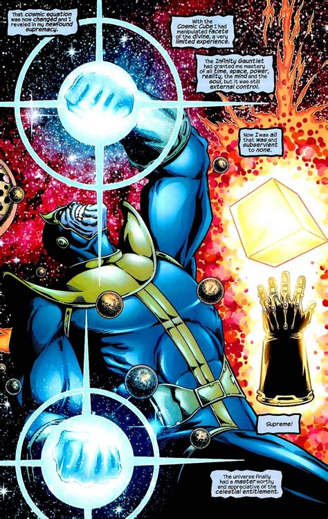 marvel universe micheal and lucifer vs thanos with the of the