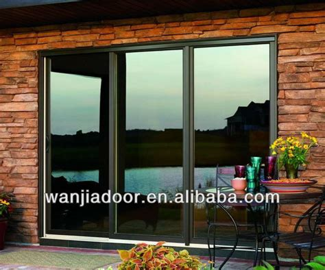 Sliding Glass Door For Sale Cheap Price Three Panel Sliding Glass Door For Sale View High Quality Three Panel Sliding Glass