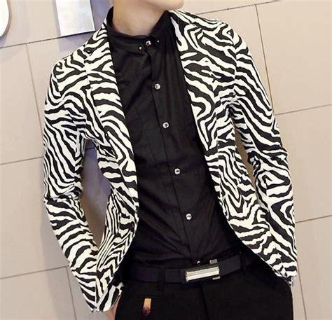 zebra pattern fashion 2014 zebra pattern mens blazer