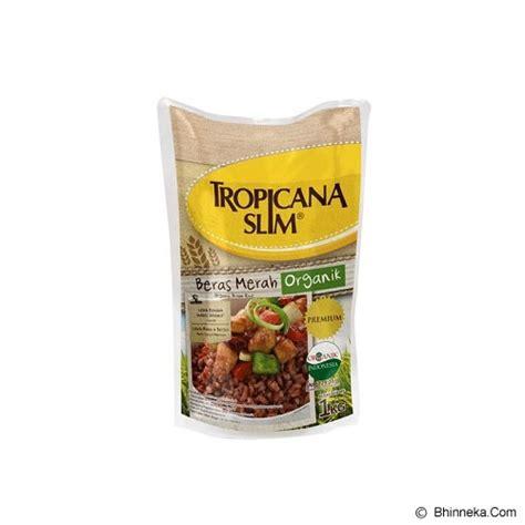 Beras Merah Organik Tropicana Slim 1kg Diet Pulen Enak Sehat jual tropicana slim beras merah organik 1kg murah