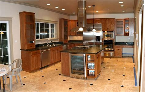 best flooring for kitchens best tile for kitchen floors