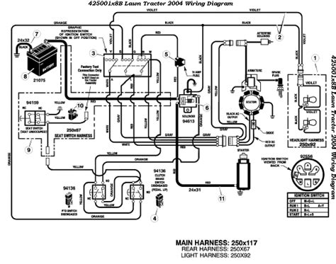 murray mower wiring diagram murray free engine